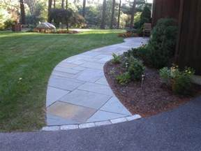 curved bluestone walkway walkway pinterest natural pavement and paver walkway