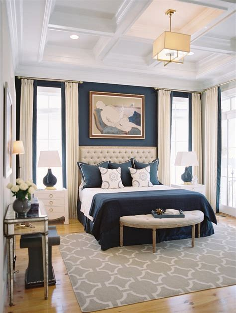 navy blue and white bedroom the trendiest bedroom color schemes for 2016