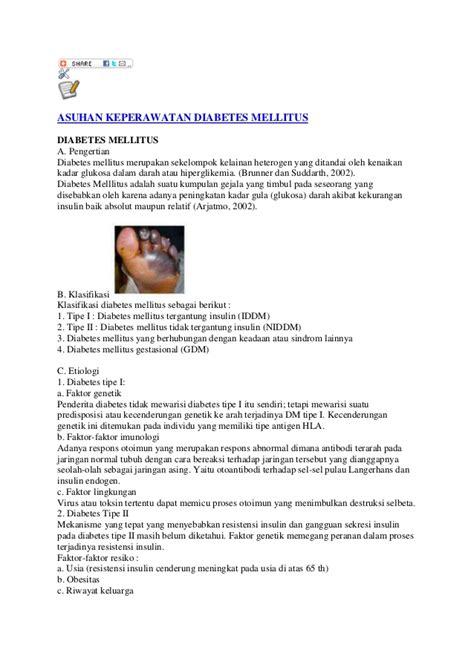 format asuhan keperawatan diabetes melitus asuhan keperawatan diabetes mellitus akper pemkab muna