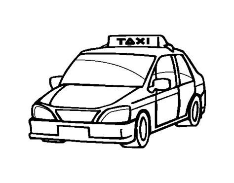 taxi coloring pictures to pin on pinterest pinsdaddy