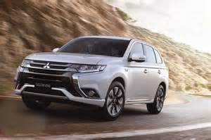 In Mitsubishi Outlander 2016 Mitsubishi Outlander Phev Revealed More Refined