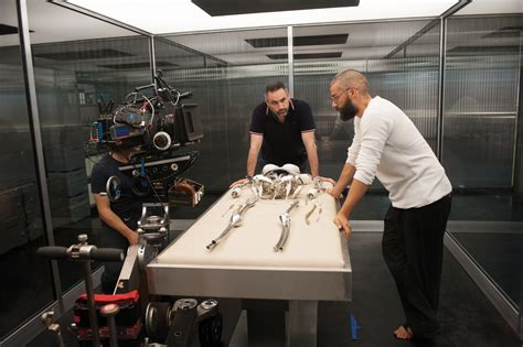 director of ex machina photos futuristic ex machina highlights a i implications front row features