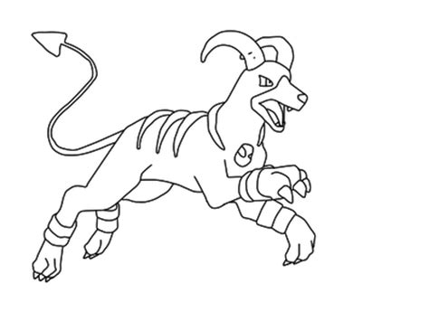 pokemon coloring pages houndoom houndoom pokemon coloring pages images pokemon images