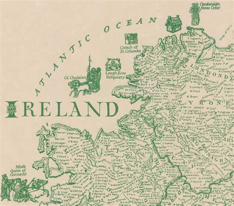 how to trace your family tree in ireland scotland and wales the complete practical handbook for all detectives of family history heritage and genealogy books this brilliantly detailed map of ireland lists 700