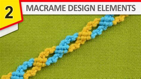 design elements youtube design elements macrame chain stitch youtube
