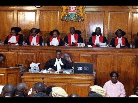 supreme court invalidates uhuru's re elections victory