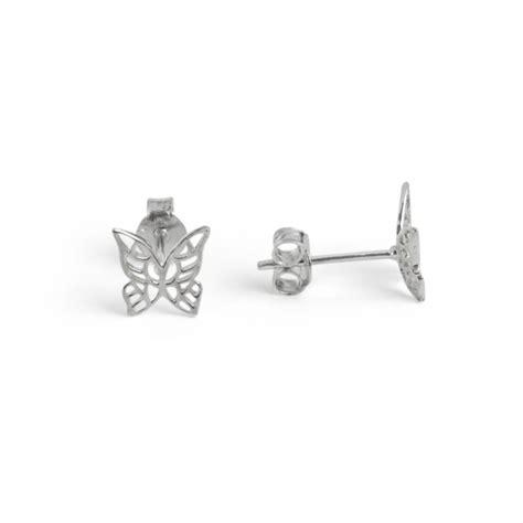 boucles d oreilles papillon en argent bijoux et boucles