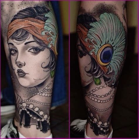 1920s tattoos 1000 ideas about flapper on deco