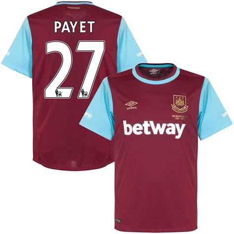 Baju Jersey West Ham United west ham jersey payet