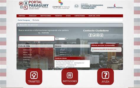 ultimas noticias iso27000 es el portal de iso presentar 225 paraguay su portal 218 nico de gobierno en la web