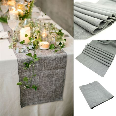 Burlap Table L by Table Runners Picture More Detailed Picture About