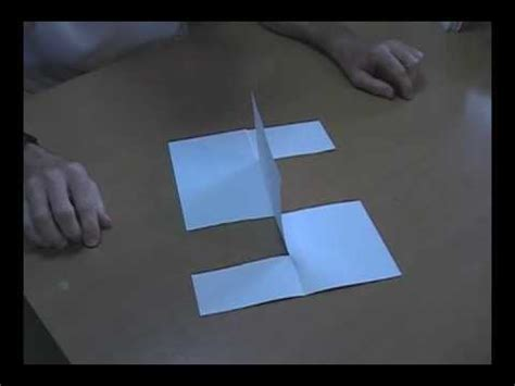 Paper Folding Trick - impossible paper trick