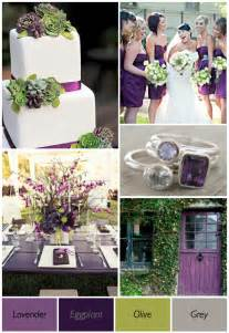 wedding color ideas purple and green wedding ideas weddings by lilly