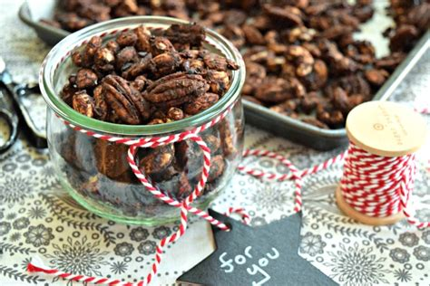 cocoa chai spiced nuts paleo for holiday gifts