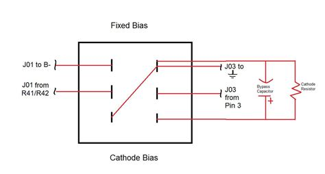 fixed bias resistor crate vintage club 50 fixed cathode bias mod help