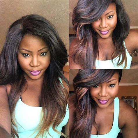 ombre african american ponytails pieces 17 best images about hair on pinterest full lace front