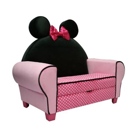 minnie mouse recliner cheap disney deluxe sofa with storage minnie mouse black