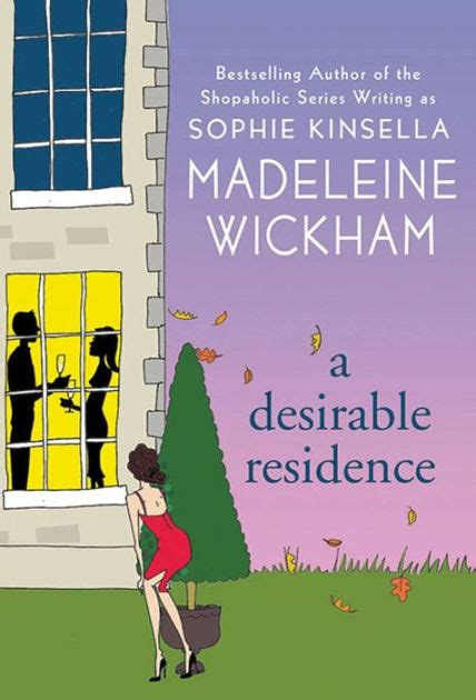 libro a desirable residence a desirable residence by madeleine wickham paperback barnes noble 174