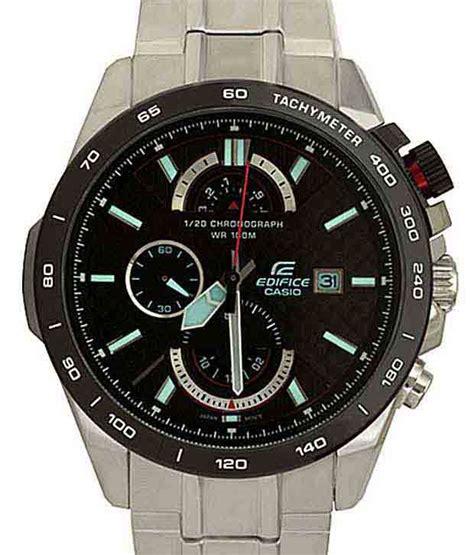 Edifice Ef 520 Black casio edifice chronograph efr 520sp 1avdf ex069 s