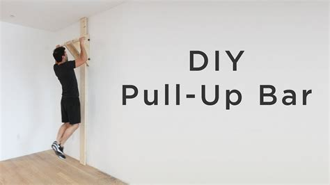 pull up bar garage diy
