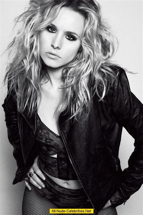 Guess Lorex Leahter kristen bell posing scans from mags