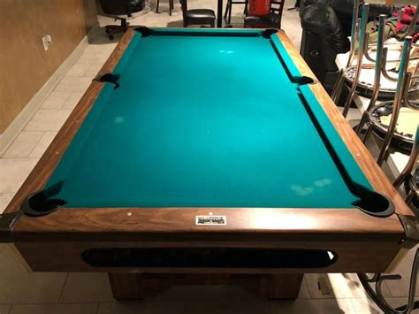 brunswick brighton pool table 90 best used pool tables for sale prices vary by your