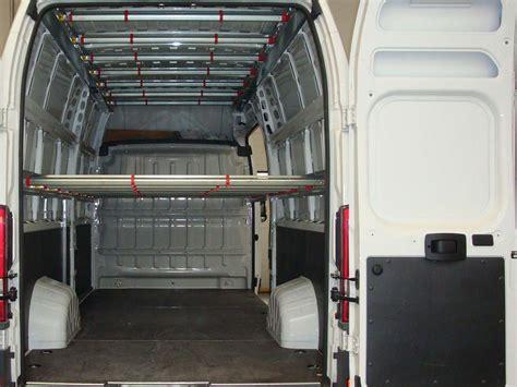 scaffali usati per furgoni scaffalature per furgoni usati allestimento con scaffali