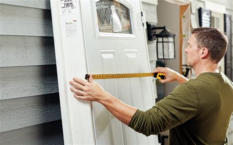 install  exterior door  home depot