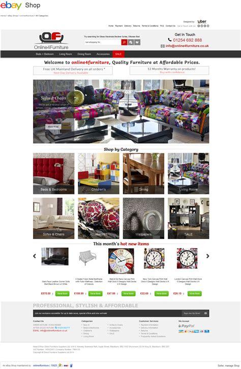ebay shop online4furniture ebay store design
