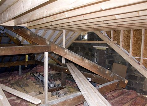 Building A Dormer On An Existing Roof Dormer Construction Existing Roof Space Flickr Photo