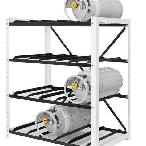 Propane Cylinder Storage Rack by Forklift Cylinder Open Rack For Storing 12 Fork Truck