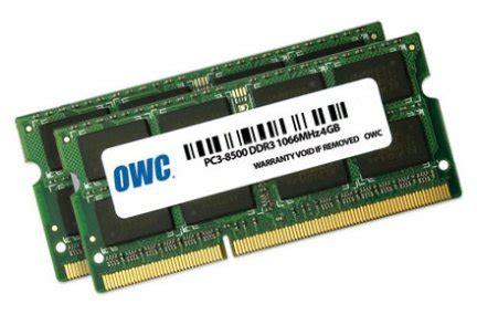 Ram Owc owc i macbook pro fino a 16gb di ram