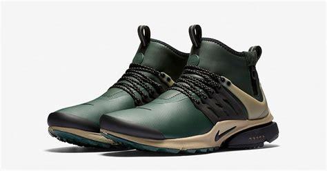 Termurah Sepatu Nike Air Presto Mid Utility Olive Premium Running nike air presto mid utility grove green next level kickz