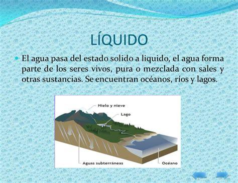 el agua estados y utilidades el agua concepto estados utilidad propiedades ppt descargar