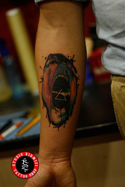 pinkfloyd tattoo d 246 vme thewall by mertkanongun on deviantart