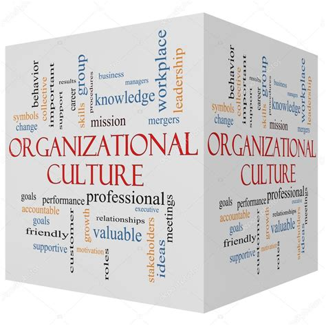 187 organizational culture s role in facebook s success organizational culture 3d cube word cloud concept stock