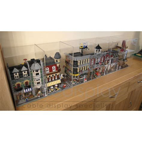 Display Box Lego White how do you display your modular building collection page 4 lego town eurobricks forums
