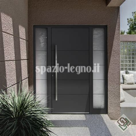 portoni d ingresso in legno portoni ingresso alluminio spazio legno srl