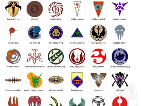 33 best logos insignia images on starwars wars emblems meanings logo pack 2 for trek vs