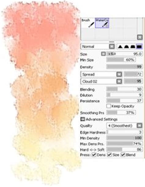 1000 images about paint tool sai on brushes watercolor tutorials and deviantart