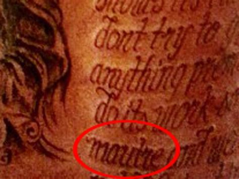 kevin durant tattoo there s a misspelled word in kevin durant s back
