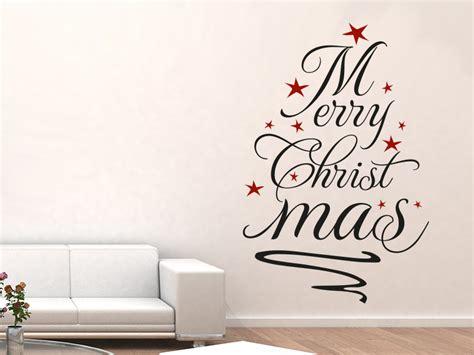 wandtattoo weihnachtsbaum merry christmas klebeheld de