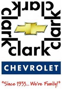 clark logo tag from charles clark chevrolet co in mcallen