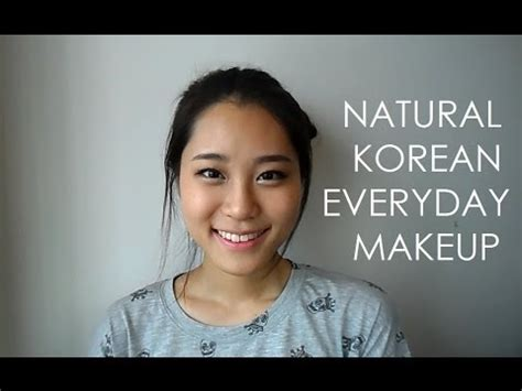 natural everyday makeup tutorial for school natural korean everyday makeup tutorial giwon youtube