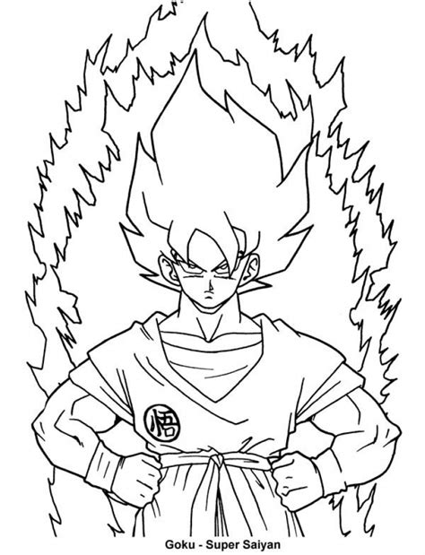 97 coloring pages online dragon ball z online top