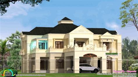 home design youtube 6000 sq ft house plans in kerala youtube luxamcc