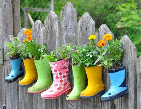 Make Plant - 5 ways to make a plant container into garden the