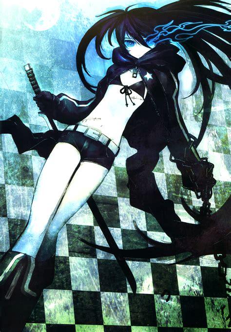 black rock shooter tv anime news network blackrockshooter art id 71977 art abyss