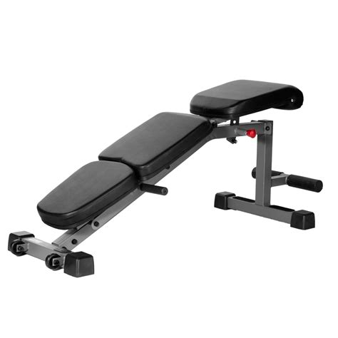flat bench dumbell xmark fitness adjustable flat incline decline dumbbell