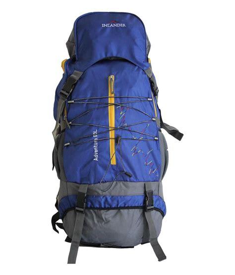 Inlander Blue inlander blue polyester hiking bag buy inlander blue
